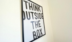 quadro (pense fora da caixa)